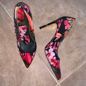 Ted Baker printed high heel
